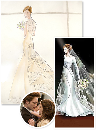 Bella&#039;s Wedding Dress