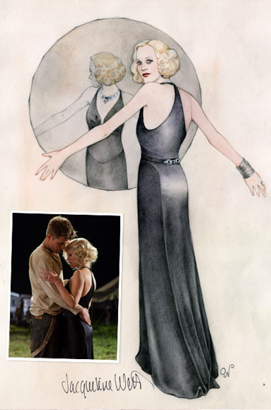Reese Witherspoon and Robert Pattinson Costumes in Water for Elephants