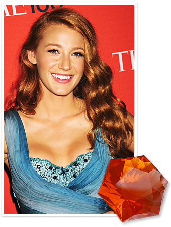 Blake Lively Red Hair