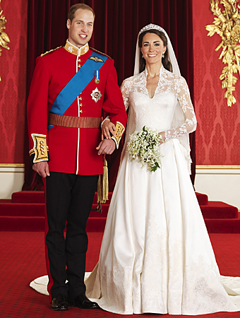 Official Royal Wedding Portraits
