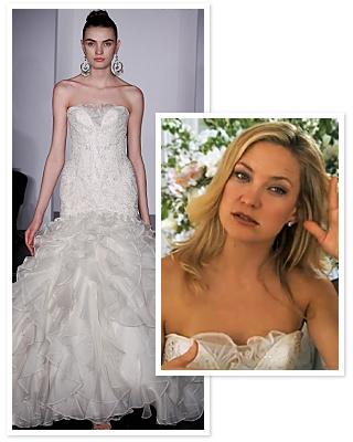 Kate hudson wedding dress something borrowed