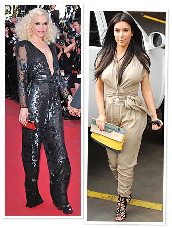 Gwen Stefani, Kim Kardashian, Jumpsuits