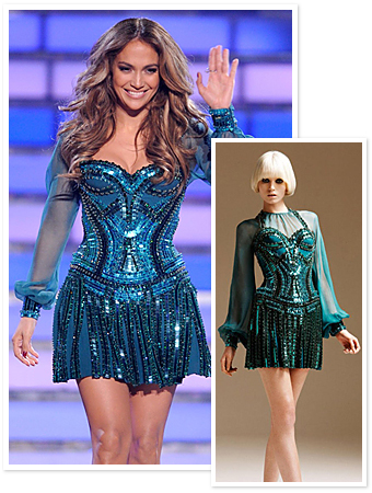 Jennifer Lopez, Versace 