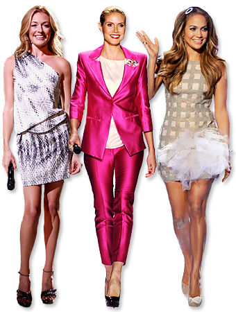 Cat Deeley, Heidi Klun, Jennifer Lopez