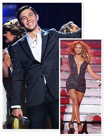 Scotty McCreery, Beyonce