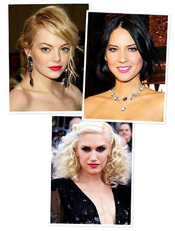 Emma Stone, Olivia Munn, Gwen Stefani
