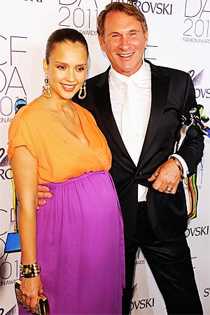 Hal and Jessica Alba