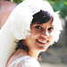 Lily Allen Weds in a Delphine Manivet Dress!