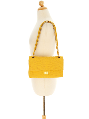 Chanel Marigold Jersey Quilted Bag