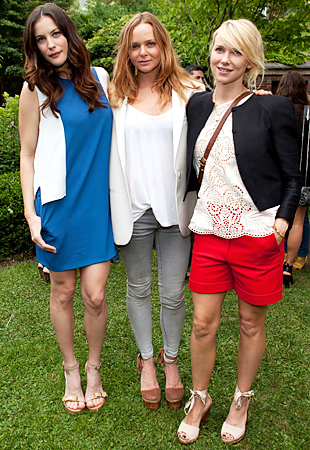 Liv Tyler Stella McCartney Naomi Watts