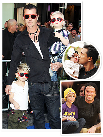 Gavin Rossdale - Mario Lopez - David Beckham