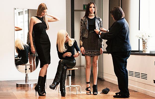 Versace, H&M