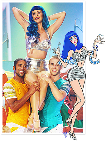 Katy Perry California Dreams Costumes