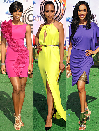 Kelly Rowland, Kerry Washington, Michelle Williams