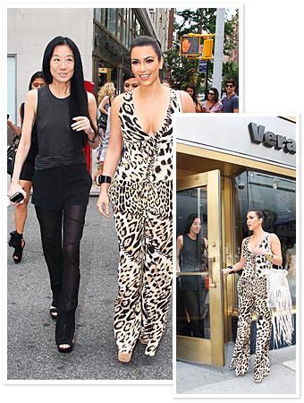 Kim Kardashian, Vera Wang