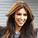 Kim Kardashian's Lighter Brown Hair!