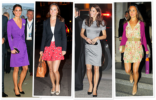 Kate Middleton, Nude Pantyhose
