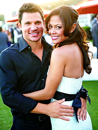 Vanessa Minillo and Nick Lachey
