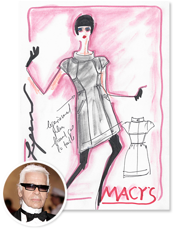 Karl Lagerfled, Macy&#039;s