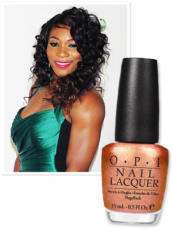 Serena Williams for OPI, Glam Slam US