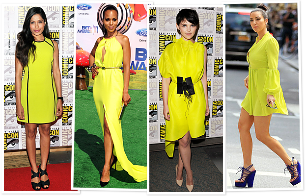 Freida Pinto, Kerry Washington, Ginnifer Goodwin, Kim Kardashian
