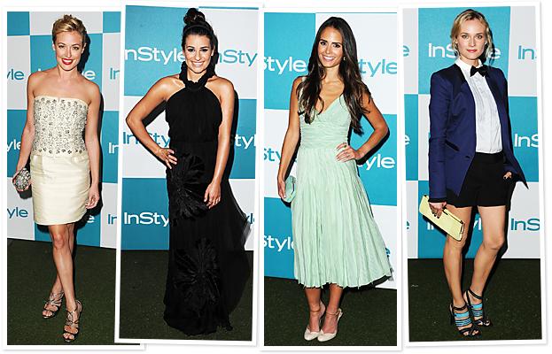 InStyle Summer Soiree, Cat Deeley, Lea Michele