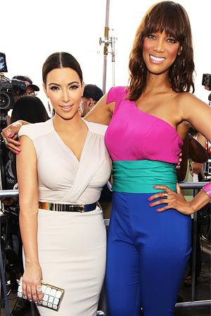 Tyra Banks, Kim Kardashian