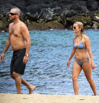 Celebrity Beach Couples
