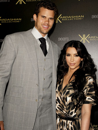 Kim and Kris Humphries