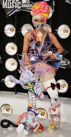 Nicki Minaj, 2011 MTV VMAs