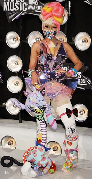 Nicki Minaj, 2011 MTV VMAs