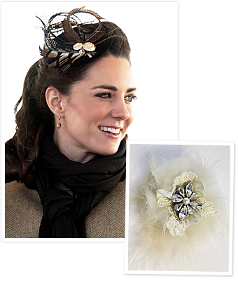 Priscilla of Boston Fascinator