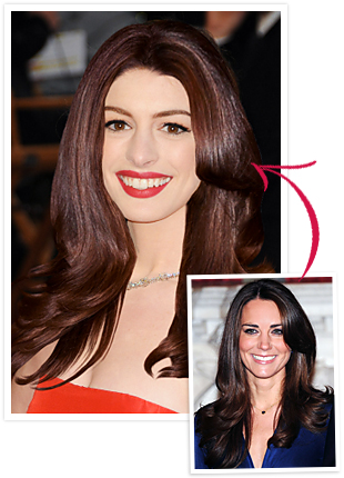 Kate Middleton Anne Hathaway