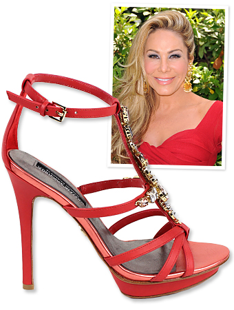 Real Housewives of Beverly Hills : Adrienne Maloof s Shoe Line