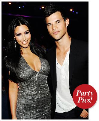 Kim Kardashian, Taylor Lautner