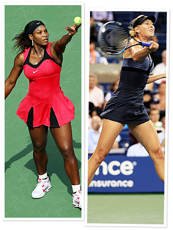 Serena Willians, Maria Sharapova