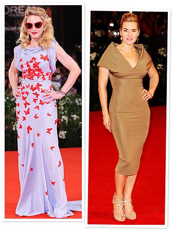 Madonna, Kate Winslet