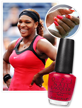 Serena Williams Nails