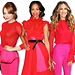 Red Carpet Trend: Color-Blocking Red and Pink!