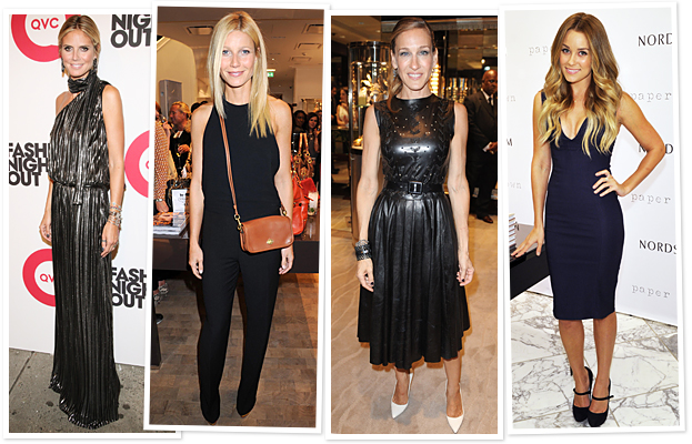 Fashion's Night Out Celebrities