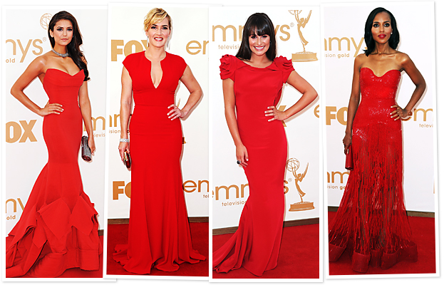 Nina Dobrev, Kate Winslet, Lea Michele, Kerry Washington