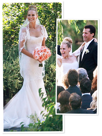 Molly Sims Wedding Dress