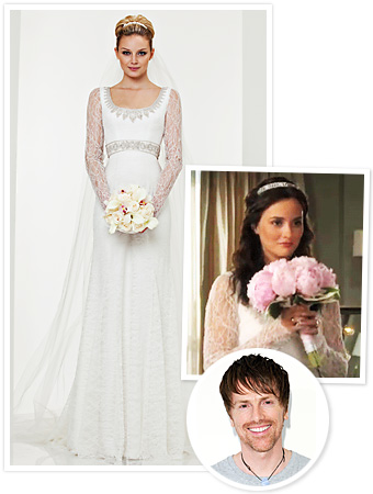 Theia Gossip Girl Wedding Dress