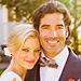 Amy Smart's Carolina Herrera Wedding Dress
