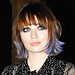 New Hairstyles 2011: Emily Browning's Pastel Purple Tips