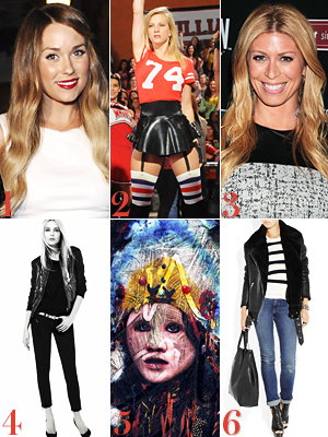 Lauren Conrad, Glee, Run the World Girls