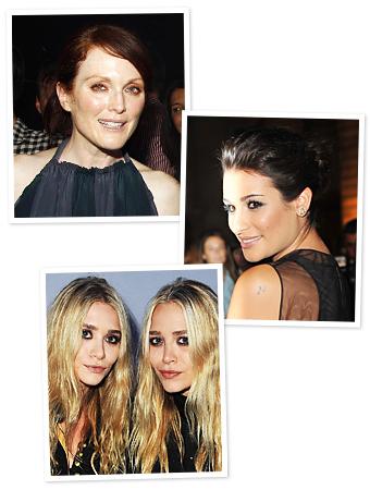 Julianne Moore, Lea Michele, Mary-Kate and Ashley Olsen