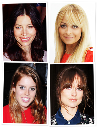 Jessica Biel, Nicole Richie, Paris Fashion Week