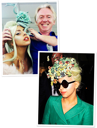 Lady Gaga, Philip Treacy