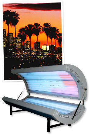 California, Tanning Beds